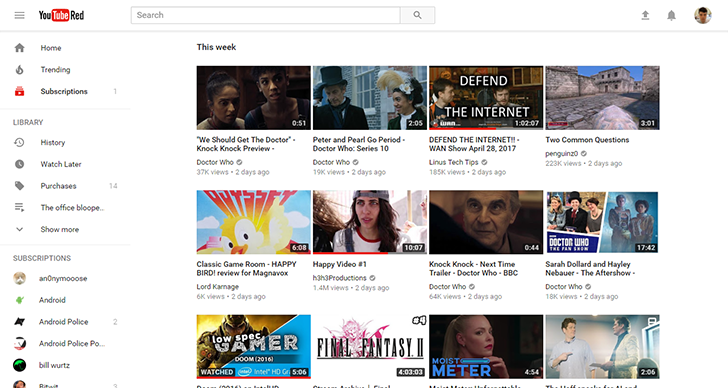 YouTube's Material Design makeover is now an open beta