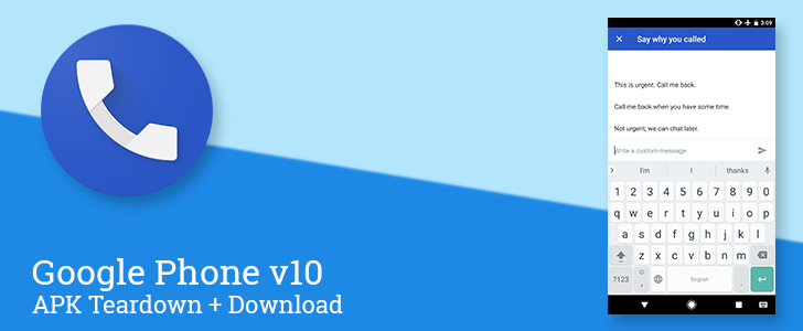 Google Phone v10 enables post-call messages for failed calls, prepares for enhanced incoming calls on RCS and voicemail backup [APK Teardown + Download]