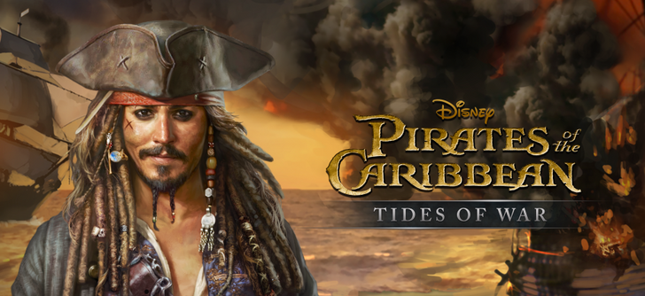 Pirates of the Caribbean: Tides of War washes up on the shore of the Play Store