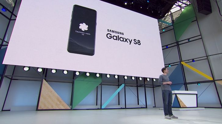 Daydream comes to the Galaxy S8 this summer, a future LG phone later this year