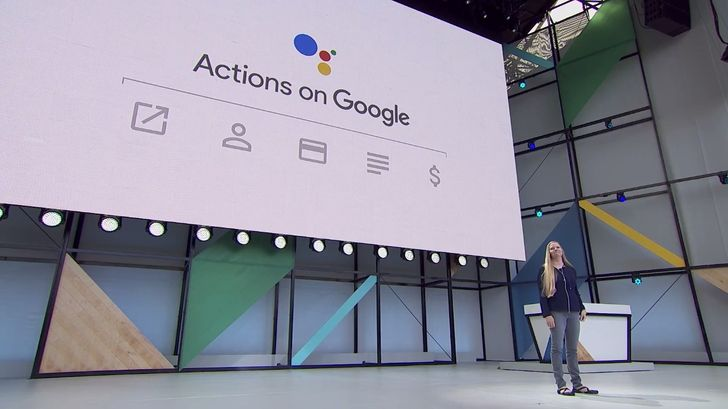 The Actions on Google platform spreads to phones, with new payment support and a ton of new features
