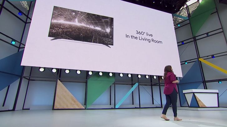 YouTube in the living room now supports 360-degree video