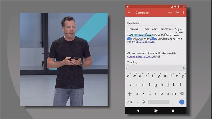 Google Docs now supports Smart Text Selection in Android O [APK Download]