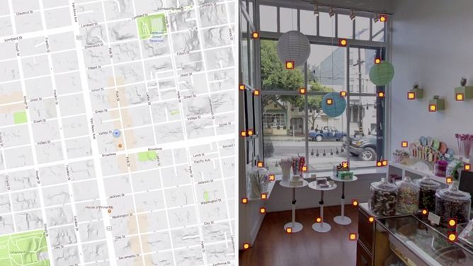 Google's new Visual Positioning Service will guide you through indoor locations