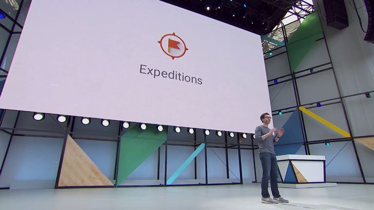 Google's education app Expeditions is getting a new AR mode