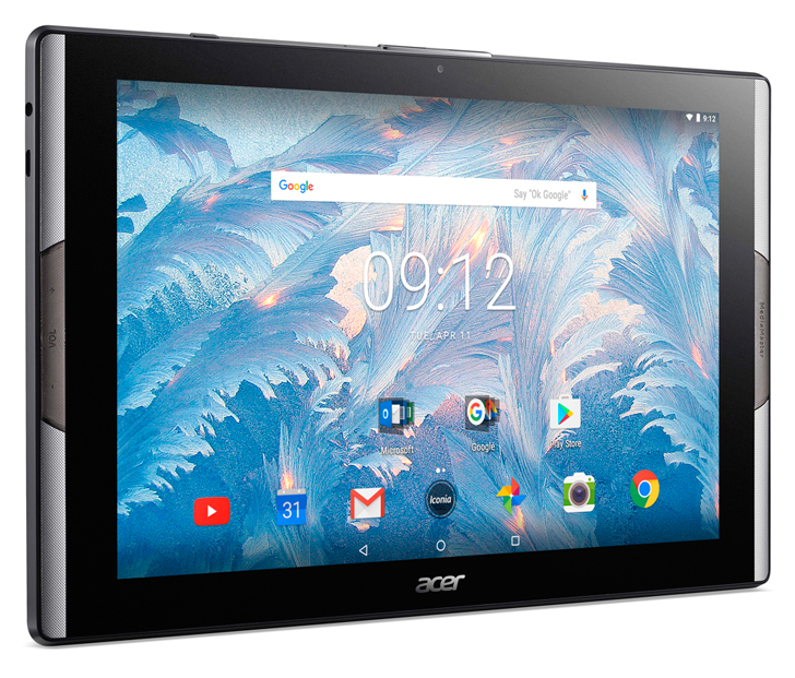 Acer announces new 10-inch tablets, one with a pseudo-quantum dot display