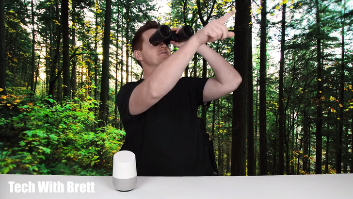 The Google Home has a built-in library of relaxing ambient audio