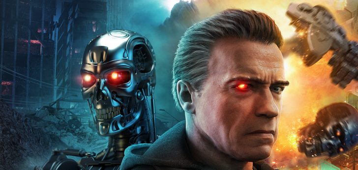 On your feet soldier, Terminator Genisys: Future War is on the Play Store