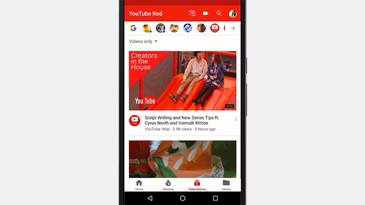 YouTube's new bottom navigation UI is official
