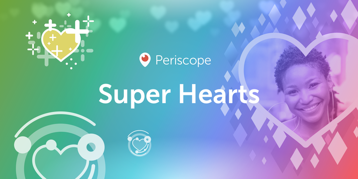 Periscope adds 'Super Hearts' that can be obtained only via in-app purchase