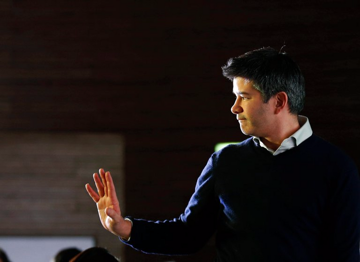 Uber CEO Travis Kalanick steps down following pressure from top investors
