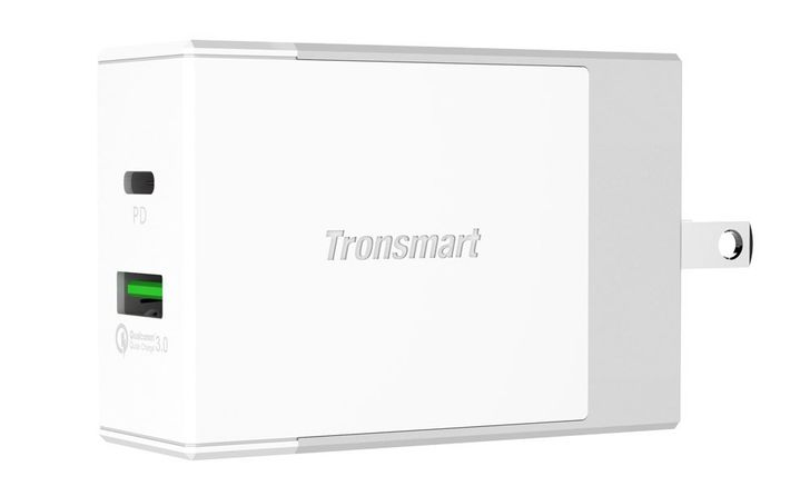 [Deal Alert] Get 20% off Tronsmart's new 2-port charger with QC 3.0 and USB-PD support ($22.39 with coupon from $27.99)