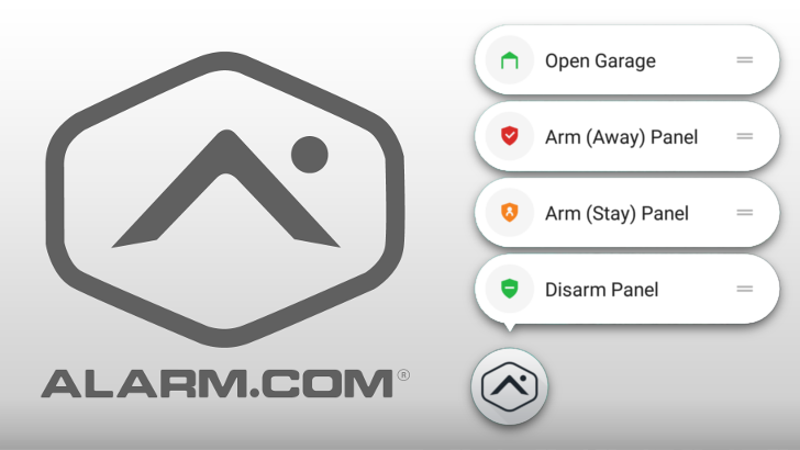 Developers, take note: Alarm.com's latest update is the best example of app shortcut configuration we've ever seen