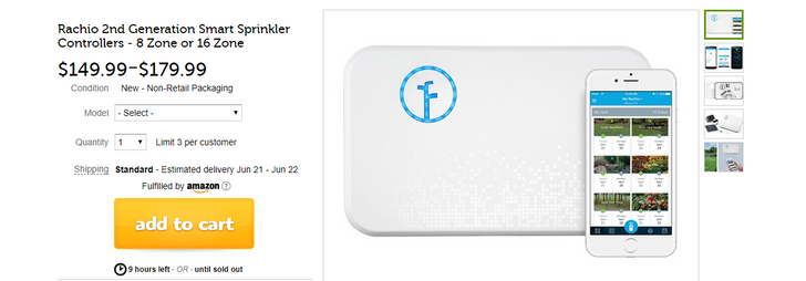 [Deal Alert] Woot has the 8- and 16-zone Rachio 2nd gen smart sprinkler controllers for $150/$180 ($50/$80 off)