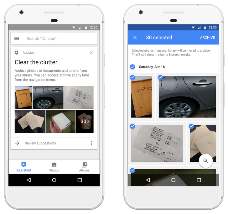 Google Photos will now suggest photos to archive