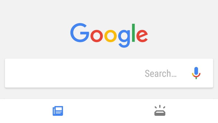 """What ever happened to Google's dual-tab """"Feed and Upcoming"""" update?"""