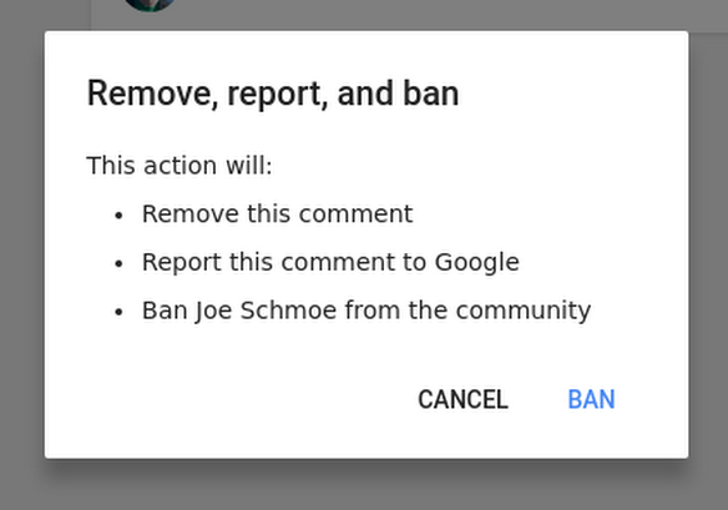 """Google rolls out a new """"Remove, report, and ban"""" option for G+ community moderators"""