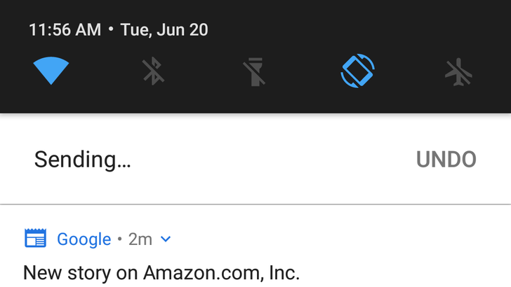 Inbox v1.49 enables undo for actions taken through notifications [APK Download]