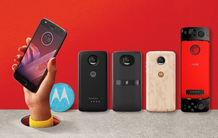 [Update: Pre-orders with free JBL SoundBoost 2] Motorola reveals the Moto Z2 Play with a smaller 3,000mAh battery and new Moto Mods