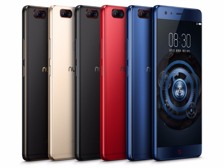 Nubia takes the wraps off of the Z17, a phone with up to 8GB of RAM and the first with Quick Charge 4+