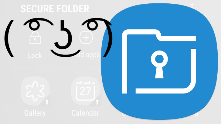 Samsung has added its Secure Folder app and file encryption