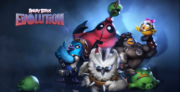 Angry Birds Evolution is a new take on the franchise, but it's still more of the same