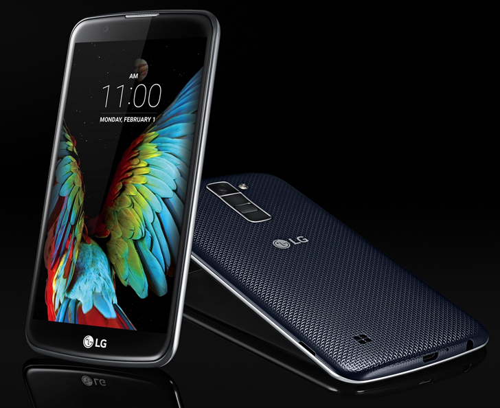 2016 AT&T LG K10 updated to Android 7.0 Nougat