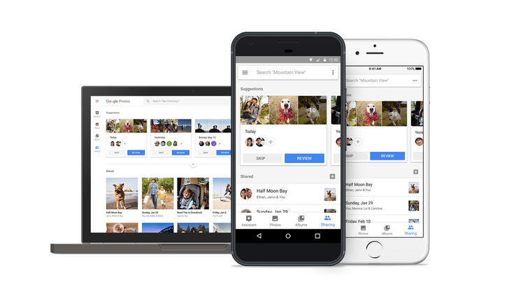 Suggested Sharing and Shared Libraries are rolling out in Google Photos today