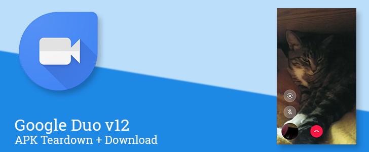 Duo v12 enables auto-hiding controls, hints at low-bandwidth audio mode and a couple logical notifications [APK Teardown + Download]