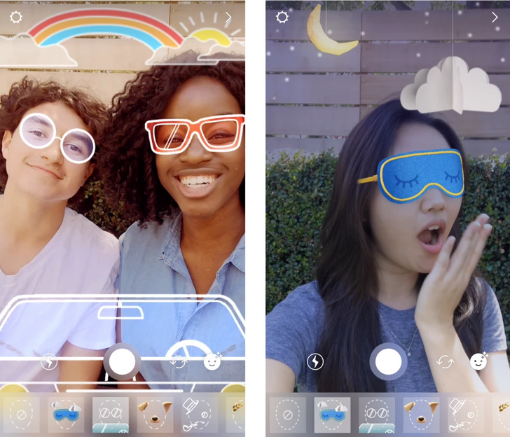 Instagram adds face filters for all of your whimsical and entertaining selfie needs