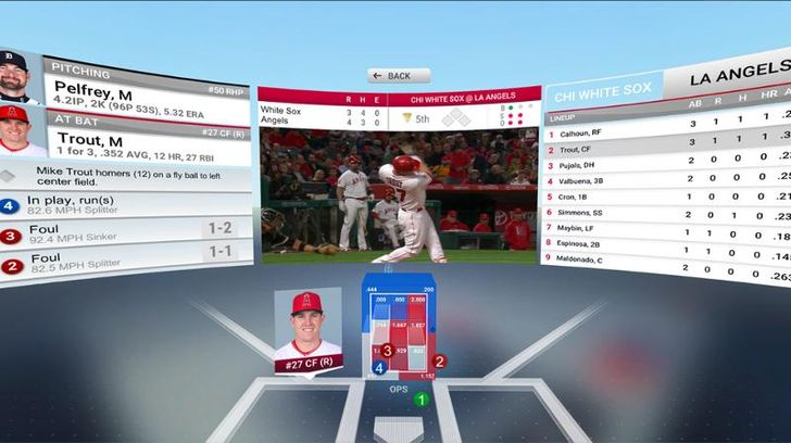 MLB's At Bat VR app lets you stream live games with Daydream