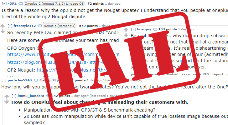 Never settle oneplus dodges questions on the companys reddit ama after months of rumors leaks and hype the oneplus 5 was released earlier this month to mostly positive reviews however the numerous missteps oneplus ccuart Choice Image