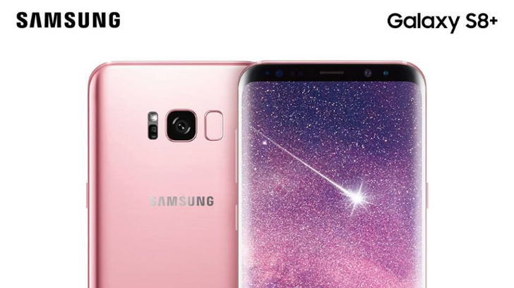 Rose Pink Galaxy S8+ will launch in Taiwan next month