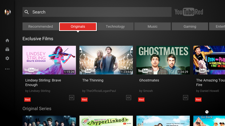 YouTube for Android TV 2.01.04 update brings back brand accounts and channel switching [APK Download]