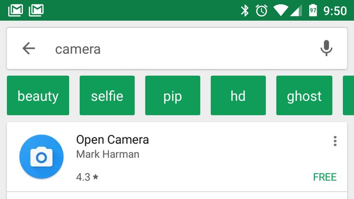 Play Store suggested search filters are rolling out to all