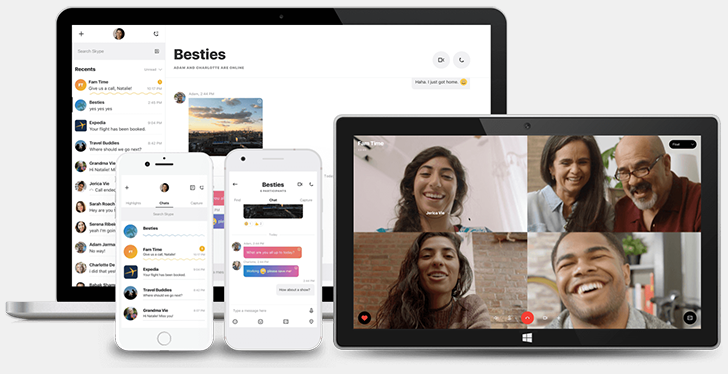 Skype's new update adds Snapchat-like Highlights and add-ins