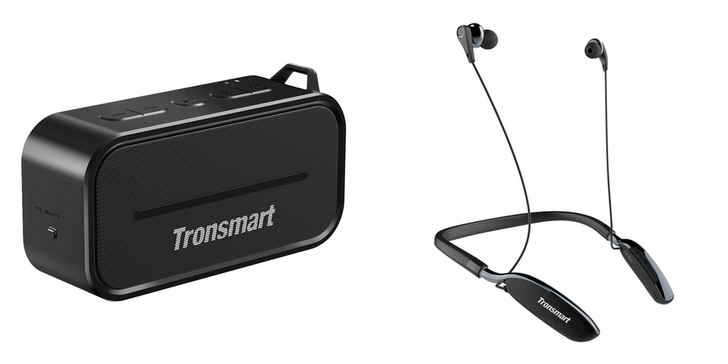 [Update: Winners, coupon for everyone else] Wireless audio giveaway: 10 readers will win Bluetooth noise canceling headphones and portable speaker ($75 combined value) from Tronsmart [US only]