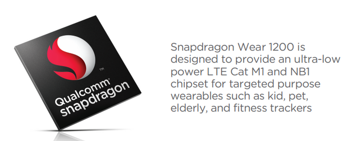 Qualcomm announces the Snapdragon Wear 1200 for entry-level wearables and LTE IoT devices