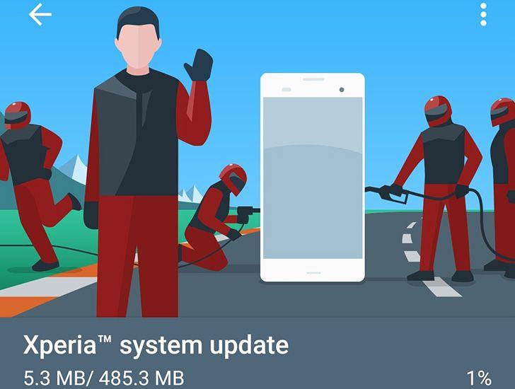 Sony Xperia Z5 range, Z4 Tablet, and Z3 Plus start getting