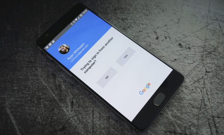 Google is trying to get SMS 2-step verification users to switch to phone prompts