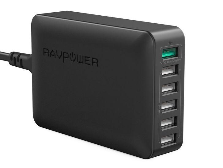[Deal Alert] RAVPower's 6-port QC 3.0 charging station on sale for $22.99 ($12 off)