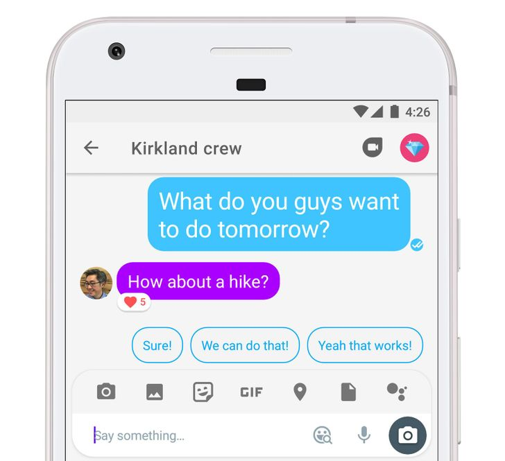 Google updates Allo to v14 with message reactions [APK Download]
