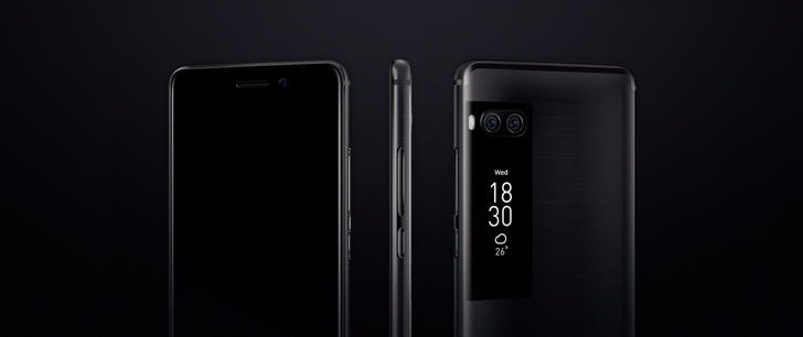Meizu makes the Pro 7 and Pro 7 Plus official, dual cameras and secondary AMOLED screen in tow