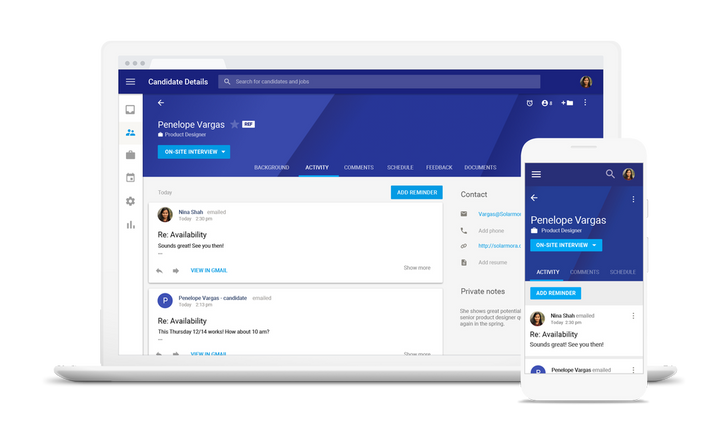 Google announces Hire, a new G Suite recruiting app aimed at helping small businesses save on hiring costs