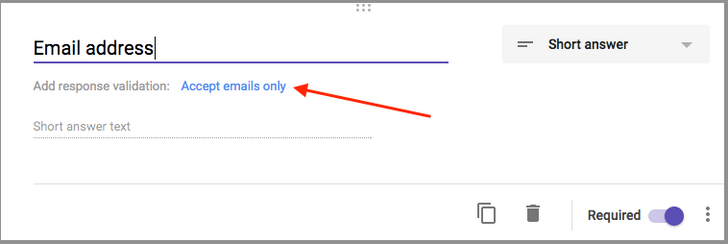 Google Forms gets a huge update with response validation, section reordering, and more