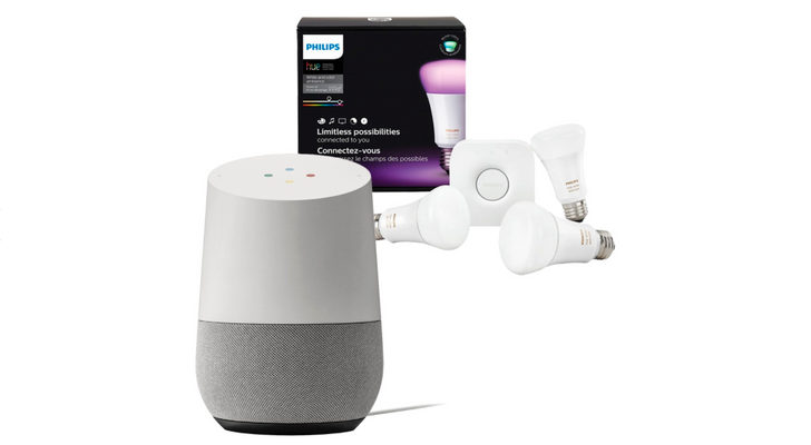 [Update: Now $188.99] Deal Alert: Get a Google Home and Philips Hue Color Starter Kit for $228.99 ($100 off) at Best Buy