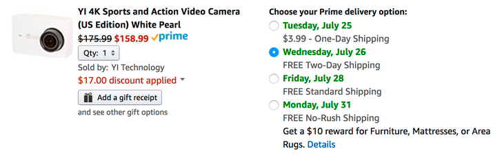 [Deal Alert] Get a YI 4K action camera for $158.99 ($90 off) on Amazon with coupon code