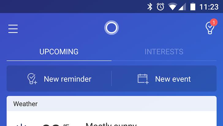 Cortana v2.9 changes the interface and brings back the hamburger menu [APK Download]