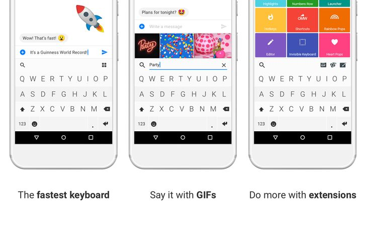 Fleksy keyboard is back with a new owner and dev team