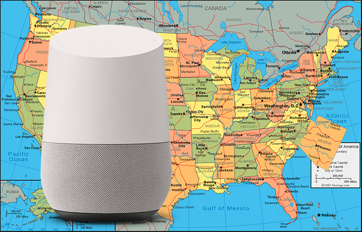 Google Assistant thinks Arizona is on the East Coast, Google still working on a fix
